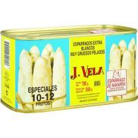 Espárrago I.G.P. 10/12 piezas J. VELA, lata 500 g