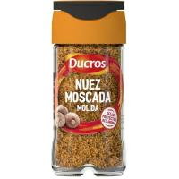 Nuez moscada molida DUCROS, frasco 32 g