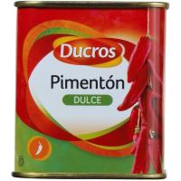 Pimentón dulce DUCROS, lata 75 g