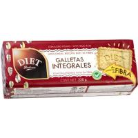 Galleta integral DIET, paquete 220 g