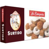 Surtido de mantecados LA ESTEPEÑA, caja 1,4 kg