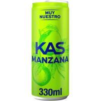 Refresco de manzana KAS, lata 33 cl