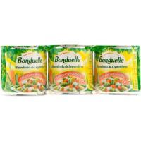 Macedonía de verduras BONDUELLE, pack 3x130 g