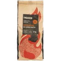 Briquetas de carbon EROSKI, paquete 3kg