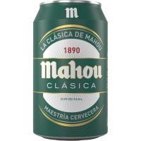 Cerveza MAHOU Clásica, lata 33 cl