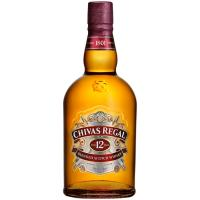 Whisky 12 años CHIVAS REGAL, botella 70 cl