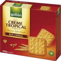 Calleta Creme Tropical GULLÓN, caja 800 g