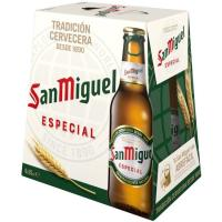 Cerveza SAN MIGUEL, pack 6x25 cl