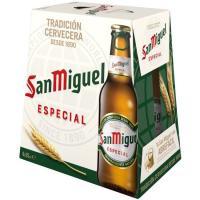Cerveza SAN MIGUEL, pack botellín 6x25 cl