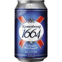 Cerveza KRONENBOURG, lata 33 cl