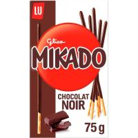 Galleta de chocolate negro MIKADO, caja 75 g