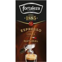 Café natural espresso FORTALEZA, caja 250 g