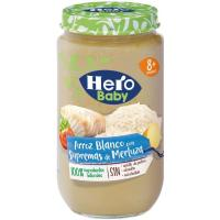 Potito de arroz-merluza HERO, tarro 235 g