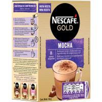 Café mocha NESCAFÉ Gold, caja 8 sobres