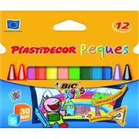 Kids Plastidecor peques triangular BIC, 12uds