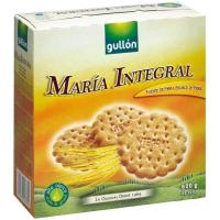 Galleta María integral GULLÓN, caja 600 g