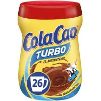 Cacao soluble COLA CAO Turbo, bote 375 g