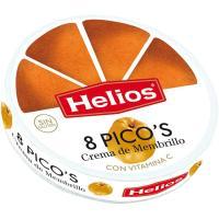 Picos de membrillo HELIOS, porciones, caja 170 g