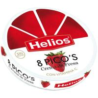 Picos de fresa HELIOS, porciones, caja 170 g