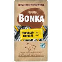 Café molido natural L'espresso BONKA, paquete 250 g