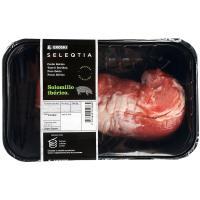 Solomillo de cerdo Ibérico Eroski SELEQTIA, bandeja aprox. 400 g