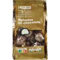 Bolitas de coco EROSKI, bolsa 340 g