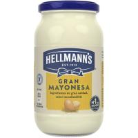 Mayonesa HELLMANN'S, frasco 450 ml