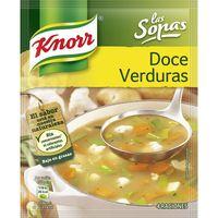 Sopa 12 verduras KNORR, sobre 39 g