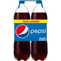 Refresco de cola PEPSI, pack 2x2 litros