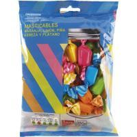 Caramelos masticables EROSKI, bolsa 150 g