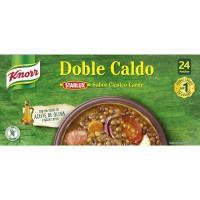 Caldo KNORR, 24 pastillas, caja 240 g