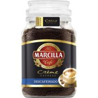 Café soluble descafeinado MARCILLA Créme, frasco 200 g