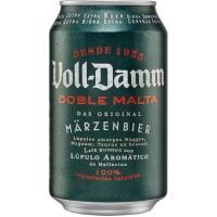 Cerveza VOLL-DAMM, lata 33 cl