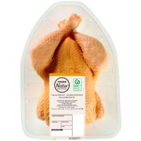 Pollo limpio EROSKI Natur, pieza al peso aprox. 1.6 kg