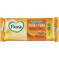 Galleta de fruta-fibra FLORA, paquete 125 g