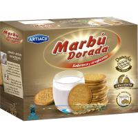 Galleta Marbú Dorada ARTIACH, caja 800 g