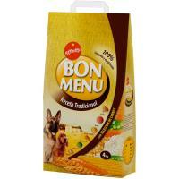 Bon Menú receta tradicional para perro AFFINITY, saco 4 kg
