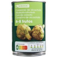 Alcachofa 6/8 frutos EROSKI, lata 240 g