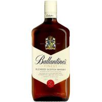 Whisky BALLANTINES, botella 1 litro