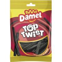Torcidas de regaliz DAMEL, bolsa 150 g