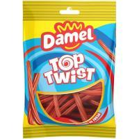 Torcidas de fresa DAMEL, bolsa 150GR