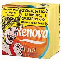 Servilleta surtida 1 capa RENOVA Uno, paquete 70 uds.