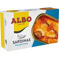 Sardina picante ALBO, lata 105 g