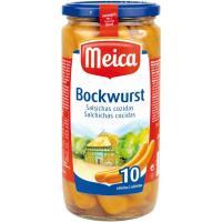 Salchichas Bockwurst MEICA, 10 unid., frasco 500 g