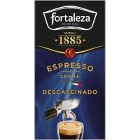 Café descafeinado espresso FORTALEZA, caja 250 g