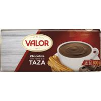 Chocolate a la taza VALOR, tableta 300 g