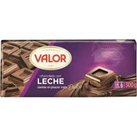 Chocolate con leche VALOR, tableta 300 g