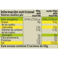 Atún claro en aceite de oliva EROSKI, pack 3x80 g