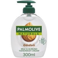 Jabón liquido almendras PALMOLIVE, dosificador 300 ml