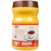 Cacao soluble EROSKI basic, bote 900 g